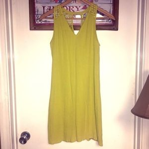 Neon Green Sundress